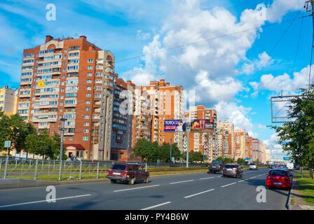 Savushkina ulitsa, Primorsky district, Saint Petersburg, Russia - Stock Image
