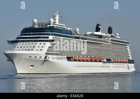Celebrity Silhouette - Stock Image