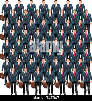 business crowd 7 - Stock Image
