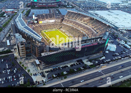 Aerial View Lincoln Financial Field Philadelphia PA - Stock Image