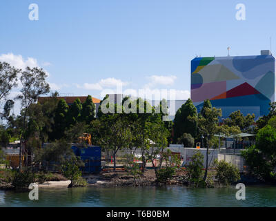 View Of HOTA, Home Of The Arts On The Gold Coast - Stock Image