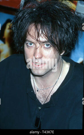 THE CURE UK rock group with Robert Smith in 1997. Photo: Jeffrey Mayer - Stock Image