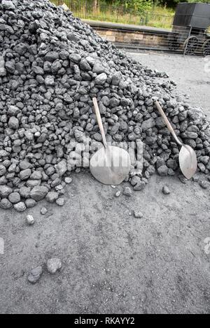 Coal UK - Stock Image