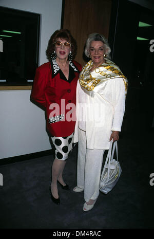 Jan. 1, 1995 - Hollywood, California, U.S. - Exact Date Unknown.JAYNE MEADOWS & JANE RUSSELL. 01/01/1995(Credit - Stock Image