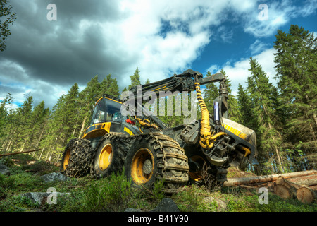 Skidder - Stock Image