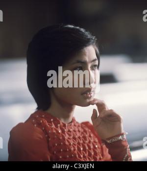 Soviet pop singer Roza Rymbaeva - Stock Image