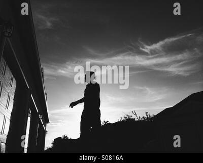A new day - Stock Image
