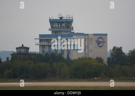 ATC air traffic control tower - Stock Image