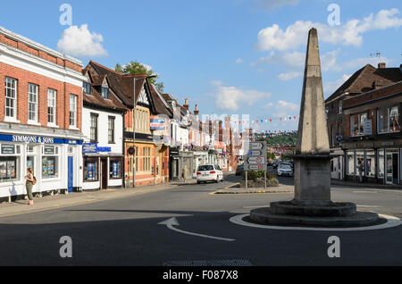 The High Street, Marlow, Buckinghamshire, England, UK. - Stock Image