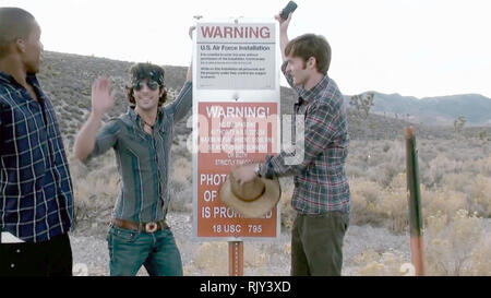 AREA 51 Paramount Pictures  2015 film - Stock Image