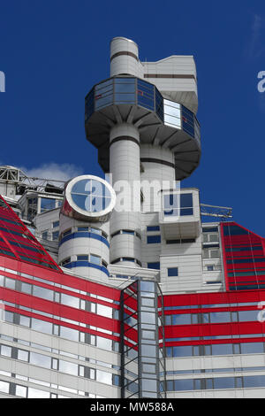 The Skanska Skyscraper, or 'lipstick' building, Gothenburg - Stock Image