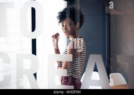 Young businesswoman - Stock Image