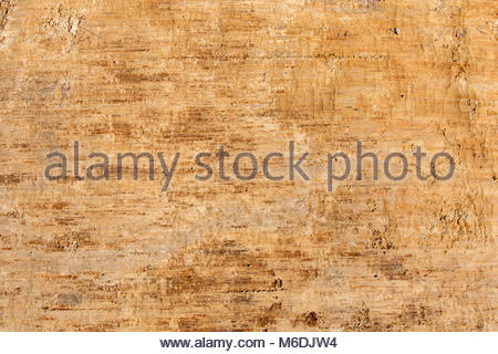 Background of natural scrabbed clay - Stock Image
