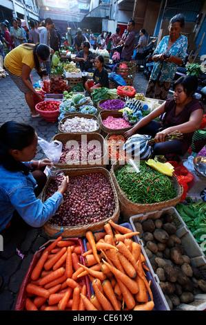 Ubud Markets, Bali Indonesia - Stock Image