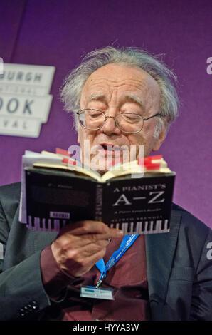 19 August 2013 - Edinburgh, Scotland - Austrian pianist and writer Alfred Brendel at the Edinburgh International - Stock Image