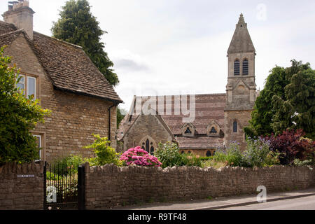 United Reformed Church in the village, Holt, near Trowbridge, Wiltshire, England - Stock Image