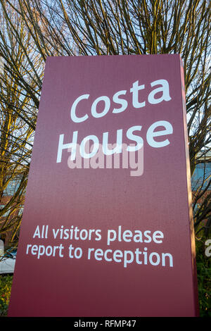 Costa House, head office for Costa Coffee, Dunstable, UK - Stock Image