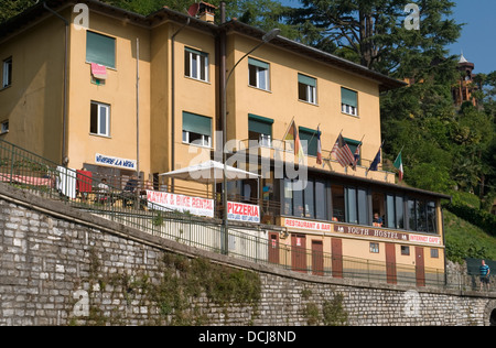 Youth Hostel in Menaggio, Lake Como, Italy - Stock Image