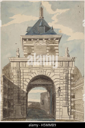 Friese Poort 1803 257 - Stock Image
