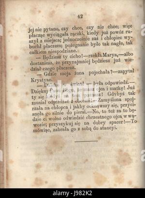 PL Hans Christian Andersen Tylko grajek tom I 048 - Stock Image