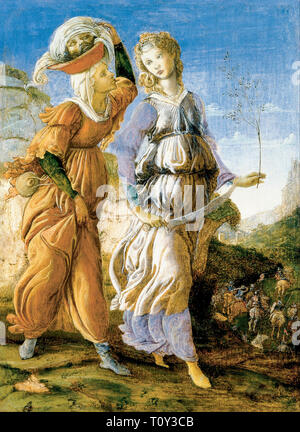 Sandro Botticelli, Judith with the Head of Holofernes, painting, c. 1464 - Stock Image