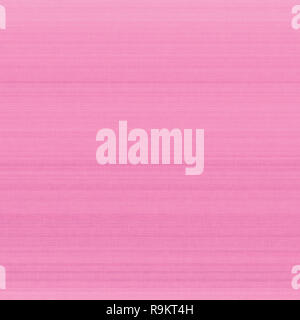 Bright pink pastel fiber linen texture swatch background, detailed horizontal macro closeup, rustic vintage textured fabric burlap canvas pattern - Stock Image