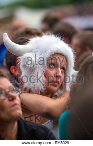 festival Musilac d'Aix-les-Bains, 12 juillet 2015 - Stock Image