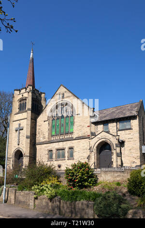 Brighouse Central Methodist Church, Brighouse, West Yorkshire - Stock Image