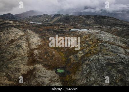 Raw Greenlandic Landscapes - Stock Image