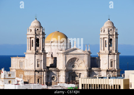 Cathedral, Cadiz, Spain - Stock Image