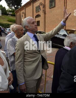 Eduardo Inda during San Isidro Fair 2019 in Madrid  22/05/2019    Cordon Press - Stock Image