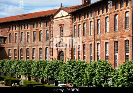 France, Occitanie, Haute-Garonne department (31), Toulouse, hotel Dieu - Stock Image