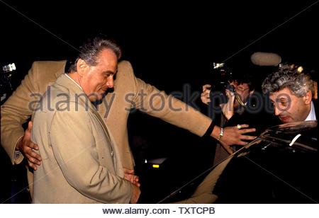 John Gotti in New York City  02/08/90.. Credit: 697298_Globe Photos/MediaPunch - Stock Image