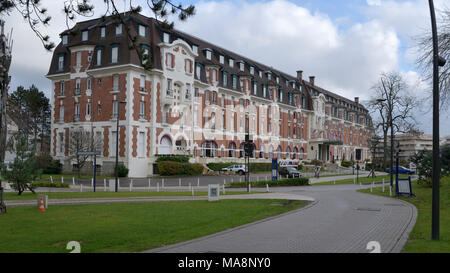 The Westminster Hotel, Le Touquet - Stock Image