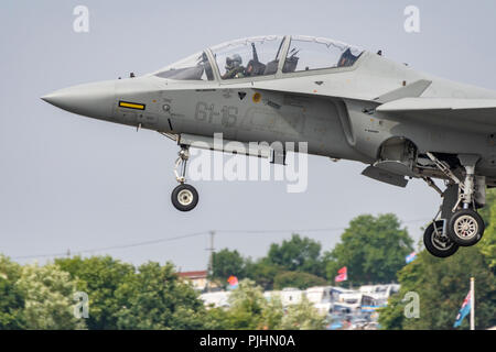 RIAT 2018 Airshow, RAF Fairford, Gloucestershire, UK - Stock Image