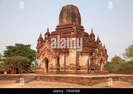 Thambula temple, Old Bagan village area, Mandalay region, Myanmar, Asia - Stock Image