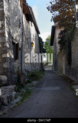 Side street in Annecy - Stock Image