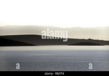 Island Landscape, Croatia - Stock Image
