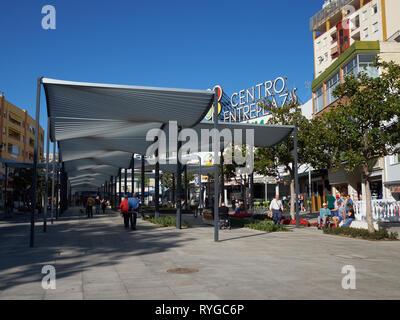 Plaza Costa del Sol. Torremolinos, Málaga, Spain. - Stock Image