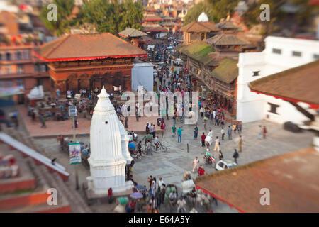 Durbar Square, Kathmandu, Nepal - Stock Image