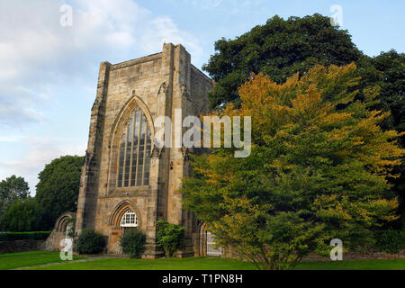 Beauchief Abbey in Sheffield, England - Stock Image