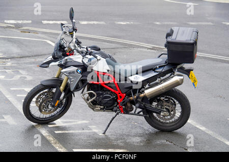 BMW Motorrad F800 GS Trophy on road/ off road Enduro Motor Cycle - Stock Image