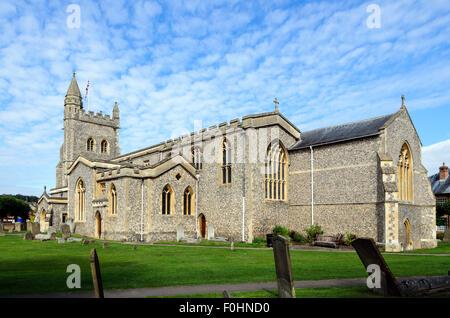 St Marys Parish Church, Old Amersham, Buckinghamshire, England UK. - Stock Image