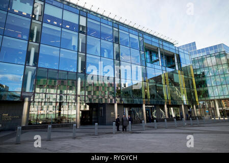 1 grand canal square office building hsbc accenture bank of ireland and citadel securities offices Dublin Republic of Ireland Europe - Stock Image