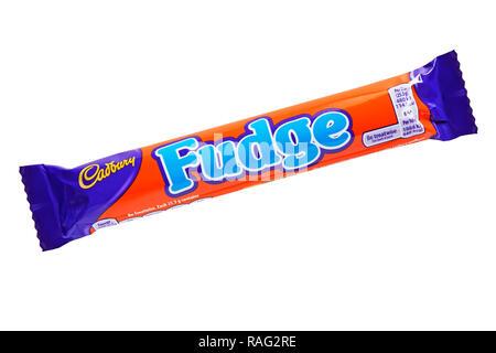 Cadburys Fudge Bar - Stock Image