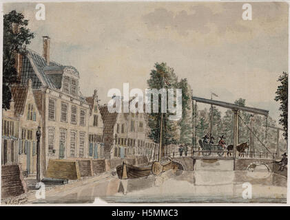 Oudegracht 1796 252 - Stock Image