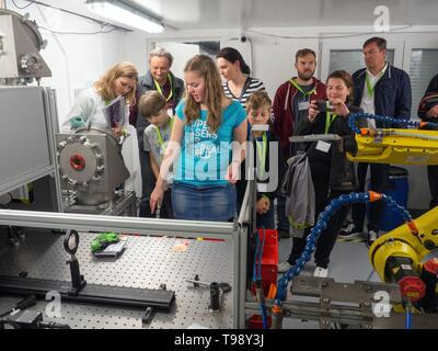 ELI Beamlines and HiLASE Open Day in Dolni Brezany, Czech Republic, May 16, 2019. (CTK Photo/Marketa Vojtikova) - Stock Image