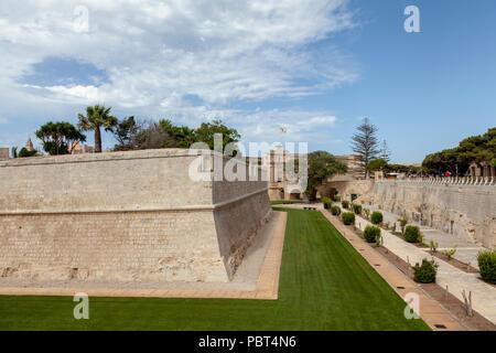 The walled city of Mdina, Malta - Stock Image