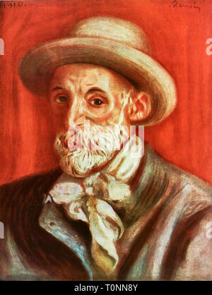 Pierre Auguste Renoir (1841–1919), self portrait, 1910 - Stock Image