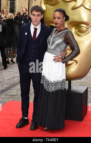 LONDON, UK. April 28, 2019: Nina Toussaint-White at the BAFTA Craft Awards 2019, The Brewery, London. Picture: Steve Vas/Featureflash - Stock Image